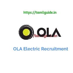 OLA Electric Recruitment