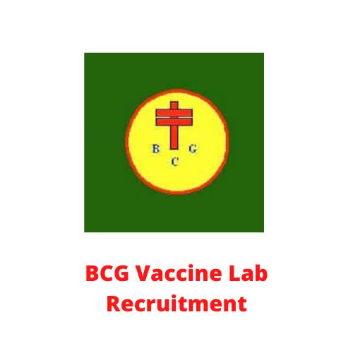 BCG Vaccine Lab Recruitment