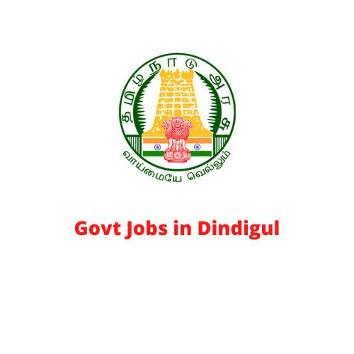 Govt Jobs in Dindigul