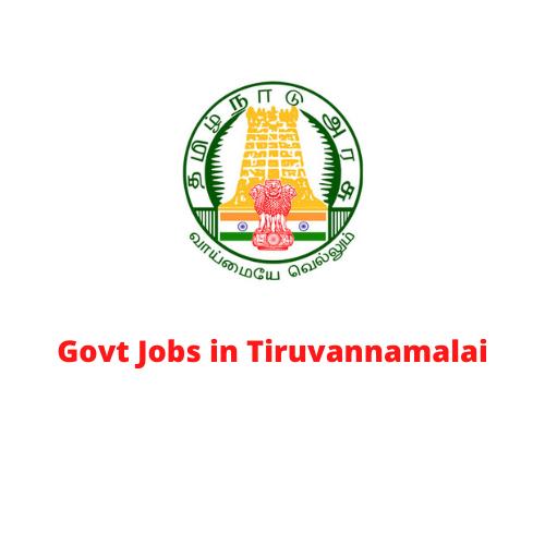 Govt Jobs in Tiruvannamalai
