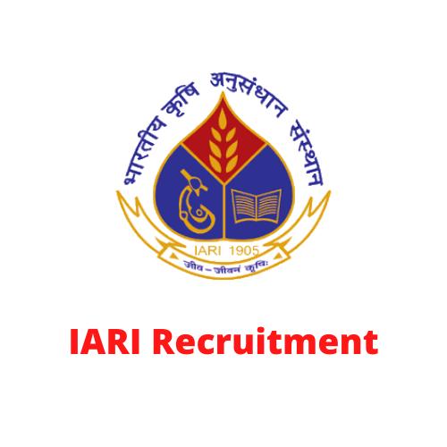 IARI Recruitment