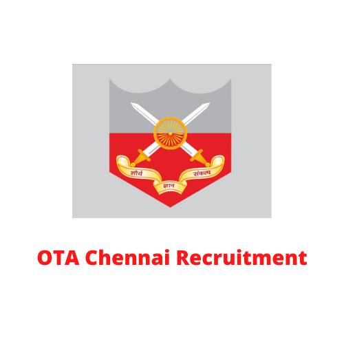OTA Chennai Recruitment