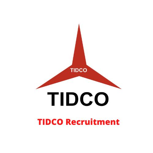 TIDCO Recruitment
