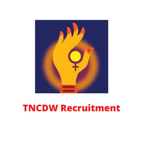 TNCDW Recruitment