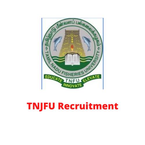 TNJFU Recruitment