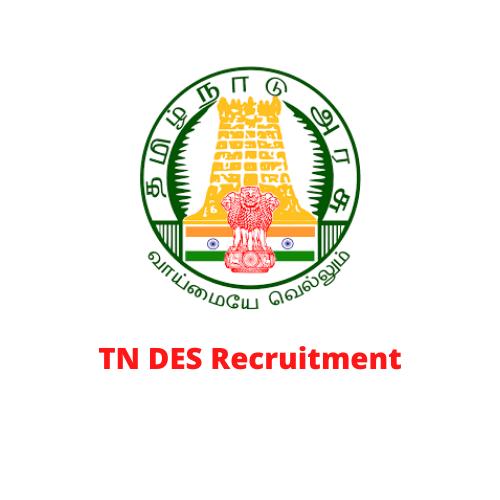 TN Economics and Statistics Department Recruitment