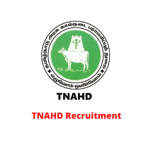 TNAHD Recruitment 2021